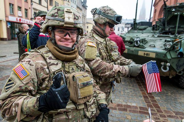 Amerykańscy żołnierze w Toruniu