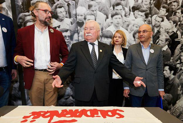 Lech Wałęsa o KOD: jestem z nimi i będę, by pomóc im w trudnym momencie