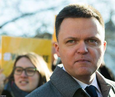 Szymon Hołownia wypowiedział się o swoich politycznych planach.