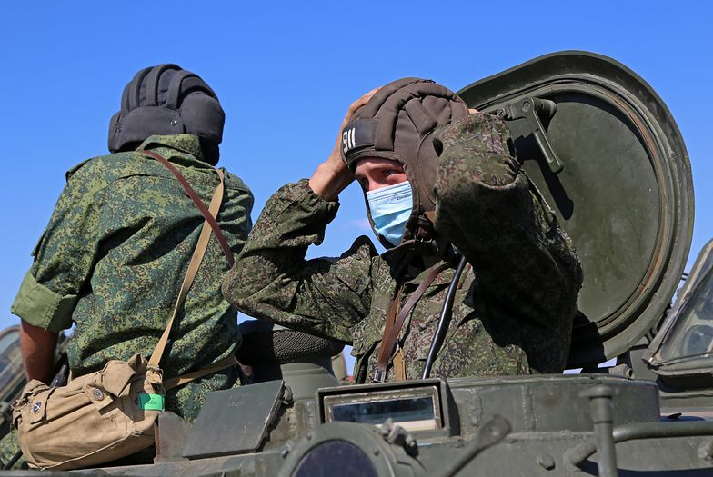 Rosja przerzuca czołgi, Amerykanie wysłali drona. Wojna wisi na włosku?