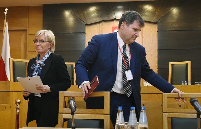 """Muszyński """"nie miał co prawda żadnego doświadczenia jako sędzia, lecz był za to człowiekiem bliskim partii"""" - czytamy w """"SZ"""""""