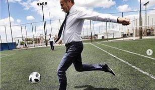 Donald Tusk wielokrotnie udowadniał, że piłka nożna to jego pasja.