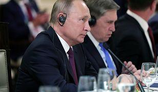 Władimir Putin podczas obrad G20 w Argentynie