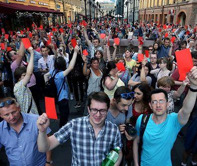 Rosja: wielotysięczne tłumy bojkotują podniesienie wieku emerytalnego