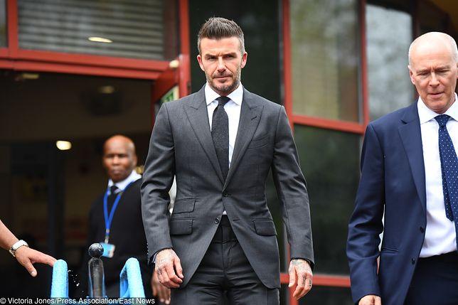 David Beckham przez najbliższe pół roku będzie musiał radzić sobie bez prawa jazdy