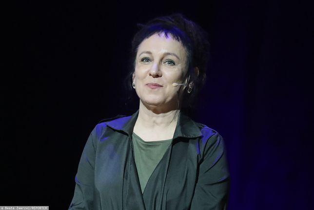 Olga Tokarczuk przyszła do Senatu na zaproszenie marszałka Tomasza Grodzkiego