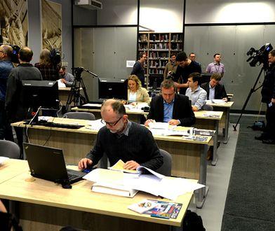 Dziennikarze w czytelni IPN
