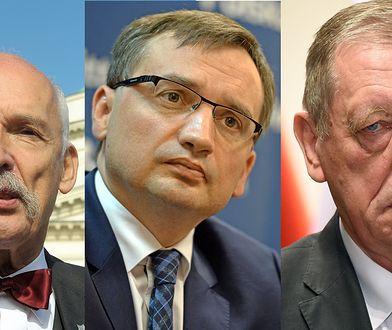 """Korwin-Mikke, Ziobro i Szyszko to laureaci """"Klimatycznej bzdury roku"""""""