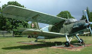 An-2 w Muzeum Uzbrojenia w Poznaniu