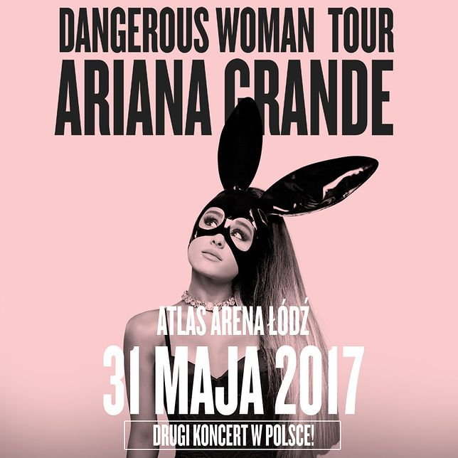 Ariana Grande w Polsce; drugi koncert!