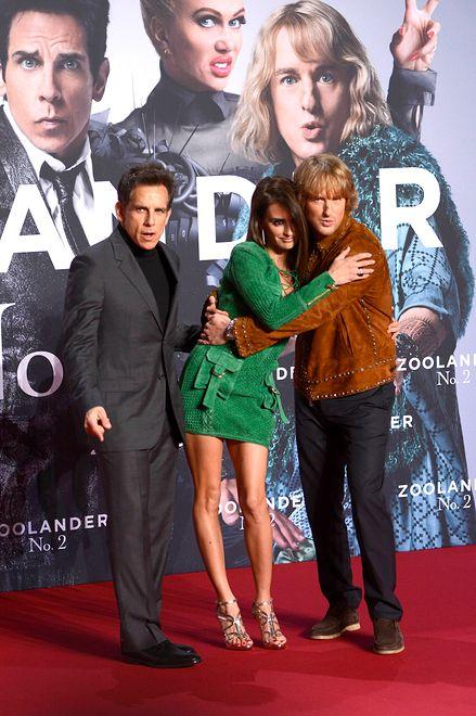 Ben Stiller, Penelope Cruz, Owen Wilson