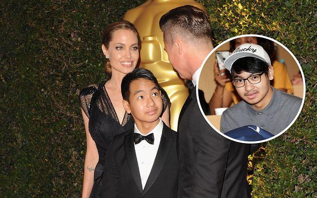 Maddox Jolie-Pitt o konflikcie z ojcem