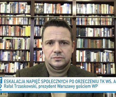Julia Przyłębska o strajku kobiet. Rafał Trzaskowski ostro: jest niebywale bezczelna