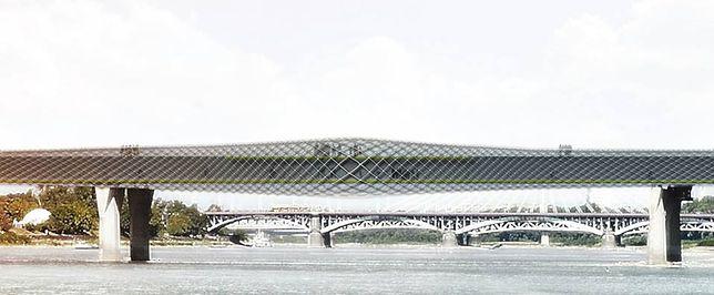 Most Łazienkowski według Inicjatywy Projektowej. Piękny pomysł! [ZDJĘCIA]