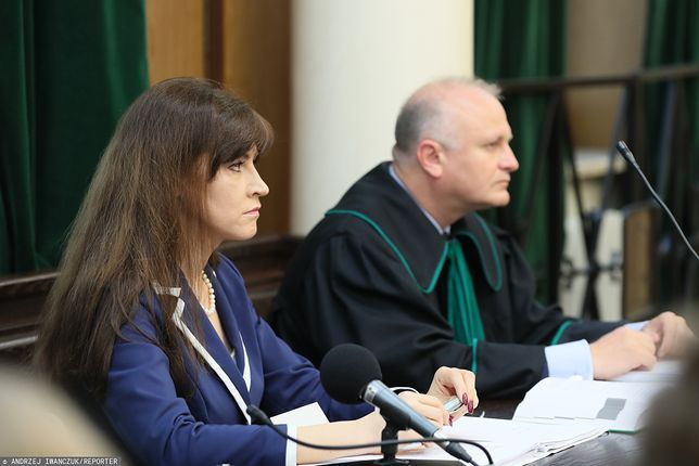 Sędzia Justyna Koska-Janusz.