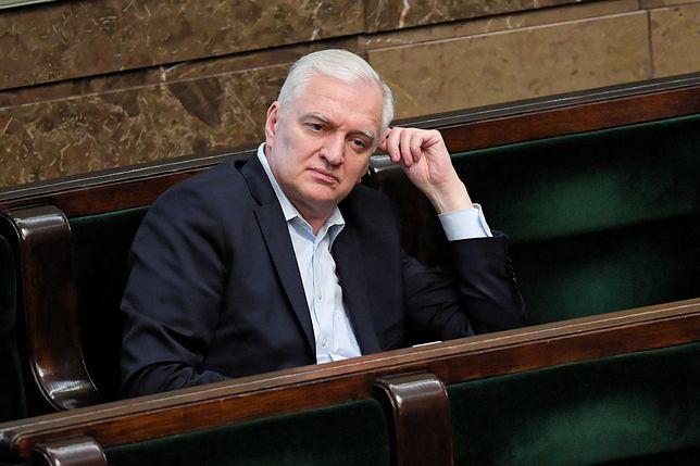 Jarosław Gowin broni Łukasza Szumowskiego