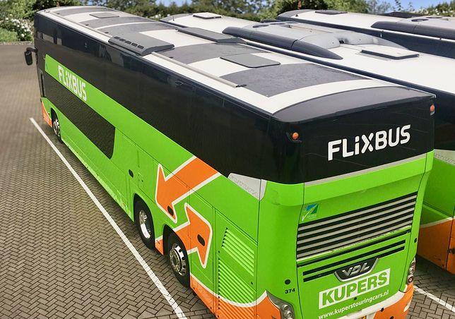 FlixBus testuje autobus zasilany energią słoneczną. Oszczędność jest ogromna