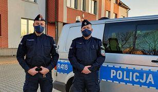 Policjanci z Bierunia swoją zmianę rozpoczęli od mocnego uderzenia.