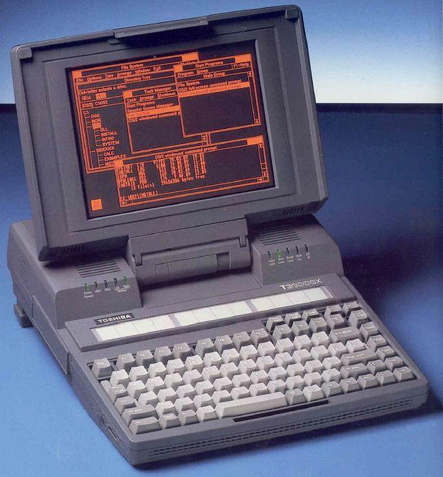 Toshiba T-3100 - komputer posiadał procesor Intel  80286 taktowany 8 MHz, 640 KB pamięci RAM (maksymalnie 2.5 MB) i dysk twardy o pojemności 10 MB.