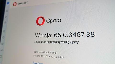 Opera 65 już jest. Ma nowy pasek adresu i lepsze blokowanie treści