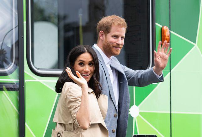 Księżna Meghan i książę Harry w Auckland