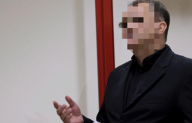 Dariusz P. na sali rozpraw