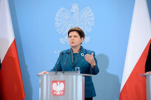 Beata Szydło dementuje informacje o zawiadomieniu CBA ws. kampanii billboardowej