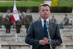 """Mariusz Błaszczak podnosi pensje cywilom w Wojsku Polskim. Uważa, że należy im się """"najwyższe uznanie"""""""