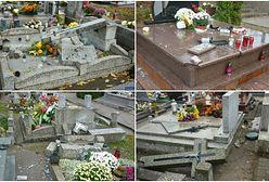 Zdewastowano ponad 100 nagrobków na cmentarzu. Prezydent miasta oferuje nagrodę za znalezienie winnych