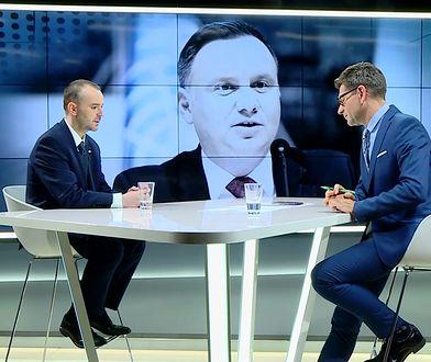 Paweł Mucha o wpisach Andrzeja Dudy. Zdumiewające tłumaczenie