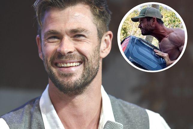 Chris Hemsworth jeszcze nigdy nie był tak wielki