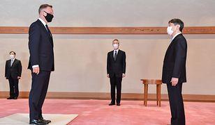 Andrzej Duda w Japonii. Pokazał zdjęcia z cesarzem