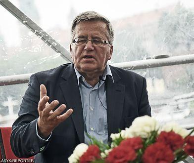 Bronisław Komorowski krytycznie ocenia rząd PiS