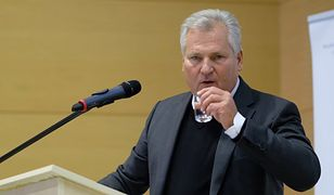 O problemach Aleksandra Kwaśniewskiego z alkoholem mówi się od dawna.