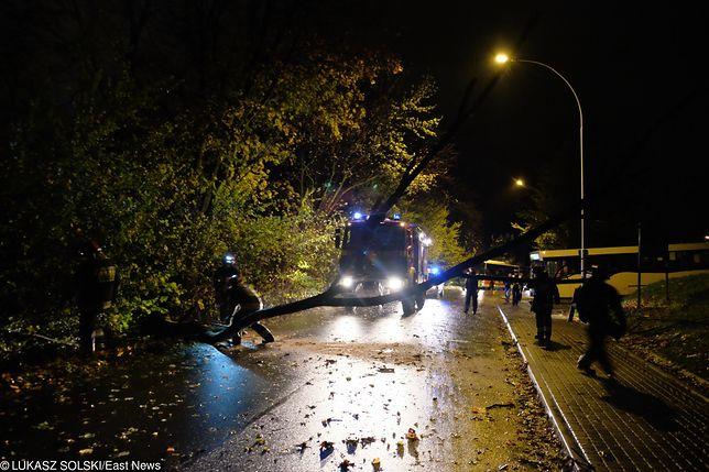 Orkan Fryderyka uderzył w Polskę z zachodu