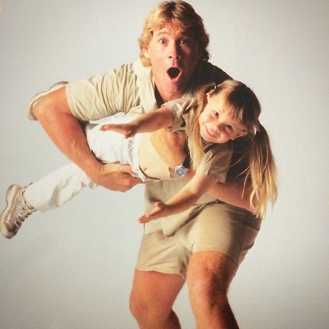 Steven Irwin i Bindi Irwin