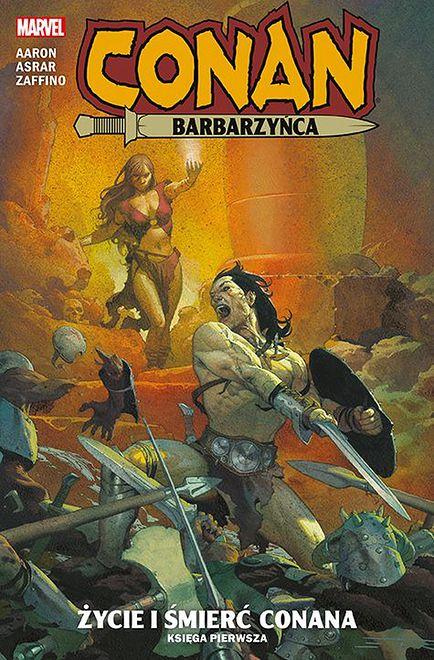Conan Barbarzyńca: Życie i śmierć Conana, księga pierwsza, Egmont 2020