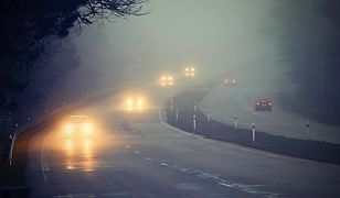 Pogoda. Gęste mgły od rana w Polsce