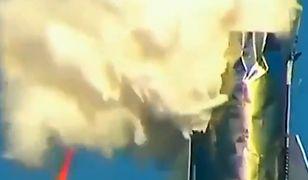 Eksplozja statku SpaceX