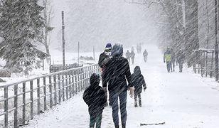 Pogoda jak zimą. Śnieg nie tylko na południu