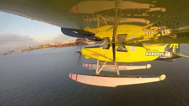 Pierwszy na świecie w pełni elektryczny komercyjny samolot. Latał ponad 10 minut [WIDEO]