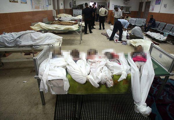 Palestyńskie dzieci zabite w nocnych nalotach Izraela