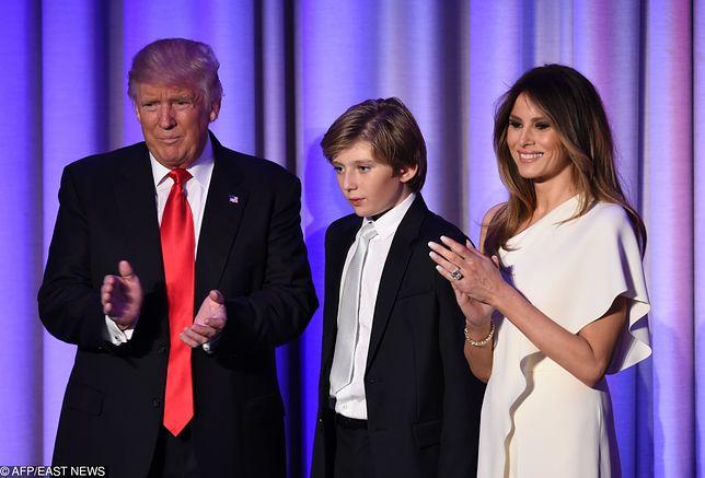 Melania Trump opowiada synowi o narkotykach. Chce go ustrzec przed problemami