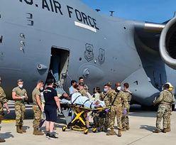 Urodziła w Air Force C-17. Dziecko nazwała na cześć samolotu