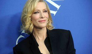 Cate Blanchett miała wypadek z piłą łańcuchową