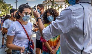 Katalonia to najbardziej dotknięty epidemią koronawirusa rejon Hiszpanii