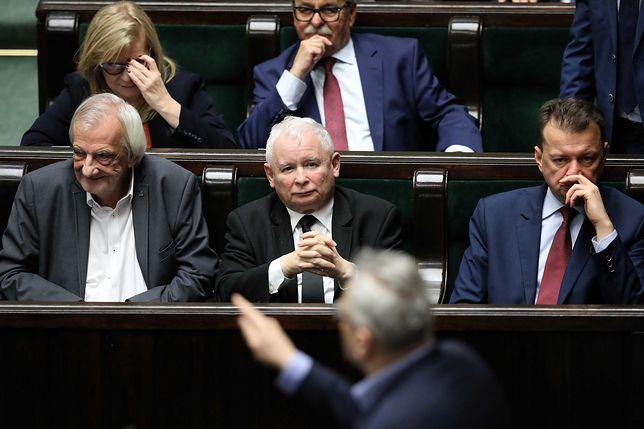 Jarosław Kaczyński zapowiada rozwiązanie sprawy Magdaleny Biejat