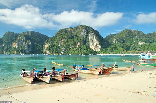 Tajlandia. Mężczyzna wypłynął z mieszkanką Tajlandii