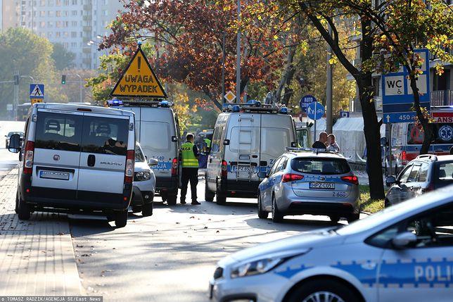 Warszawa. Wypadek na Bielanach. Wkrótce opinia ws. kierowcy BMW