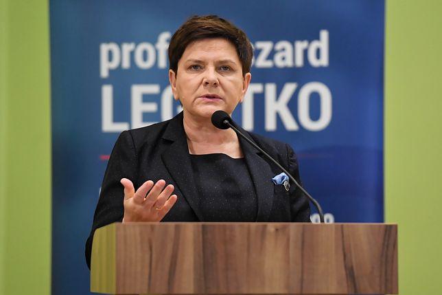 Europosłanka PiS Beata Szydło